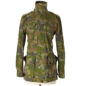 J. Crew Camo, light-weight jacket-XS